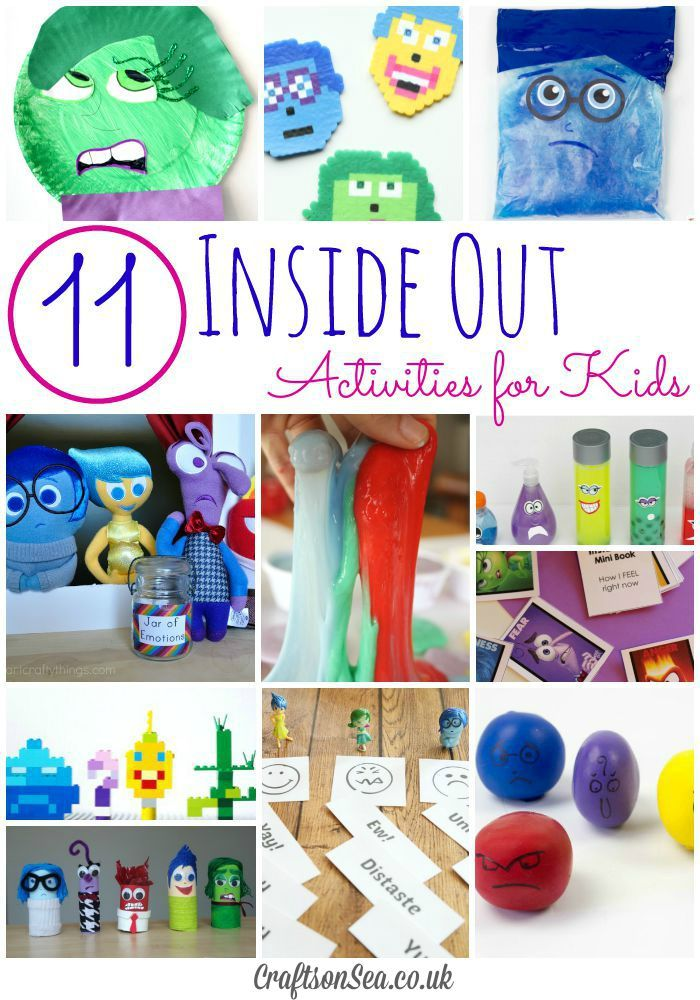 Inside Out Activities for Kids - Crafts on Sea