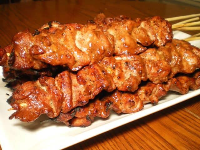 Pinoy pork barbecue are skewered marinated pork sliced that are grilled until perfectly done. This is a delicious Filipino recipe worth your time.