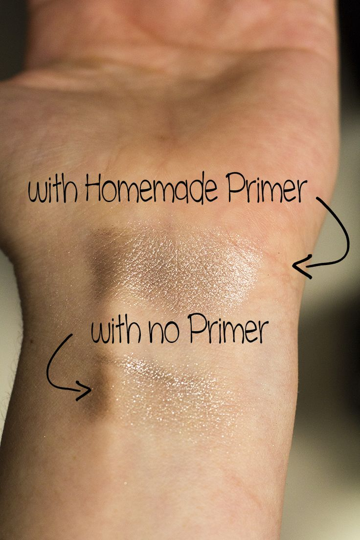 How to Make Eyeshadow Primer |1/4 tsp bentonite clay  1/4 tsp gmo-free cornstarch (or arrowroot powder)  2 tsp aloe vera gel