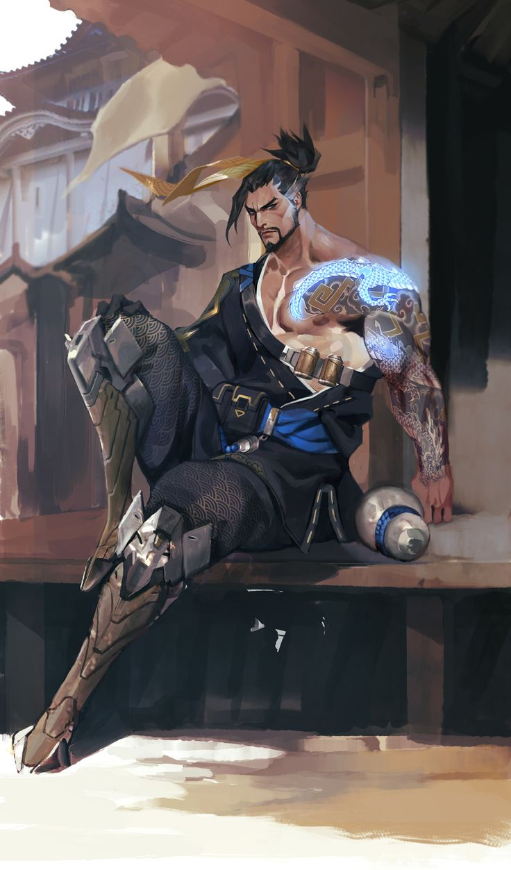 #overwatch #hanzo                                                                                                                                                                                 More