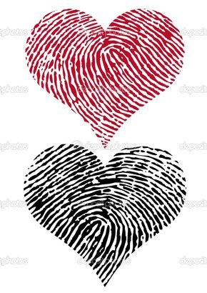 Tattoo idea, man get's his girl's finger print and woman get's her man's finger…