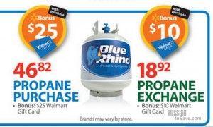 *HOT* Blue Rhino Propane Exchange Only $2.92 at Walmart!