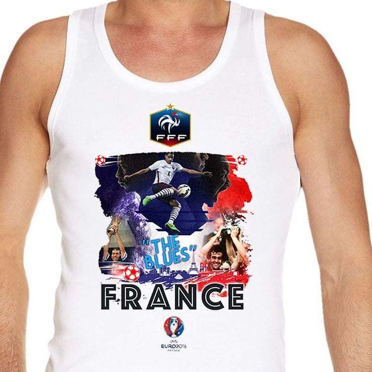 #Euro2016 #FRANCE #TheBlues #KarimBenzema #ThierryHenry #LilianThuram #EUFA #EUFA16 #PES #Football #Sports #Championship #European #Season2016  #vest  #tanktop