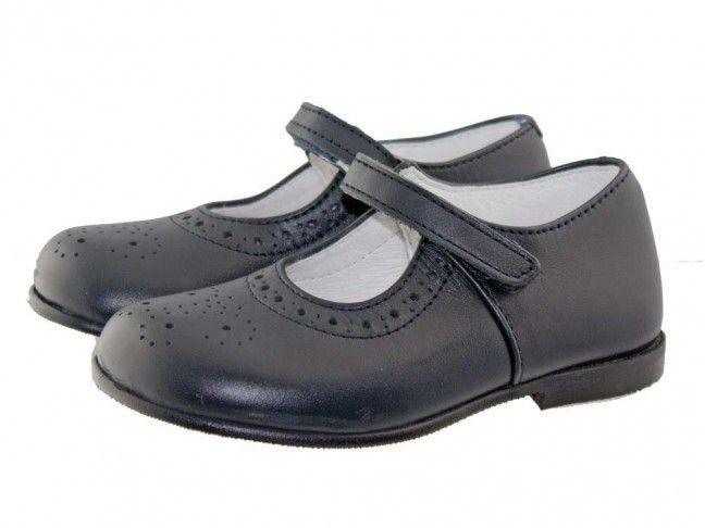 Zapatos Colegio Merceditas Niña Tira Fina | Minishoes