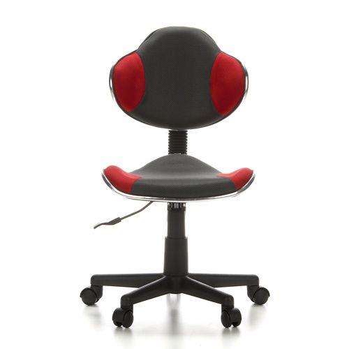 Kinder bureaustoel KIDDY GTI-2, grijs / rood - Kinder bureaustoelen - Bureaustoel 24 | Online Bureaustoelen Kopen – Bureau Stoelen, Bureau Stoel