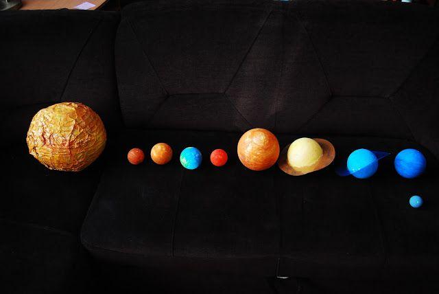 Wiśnia w przedszkolu: Kosmos - przykładowe zabawy