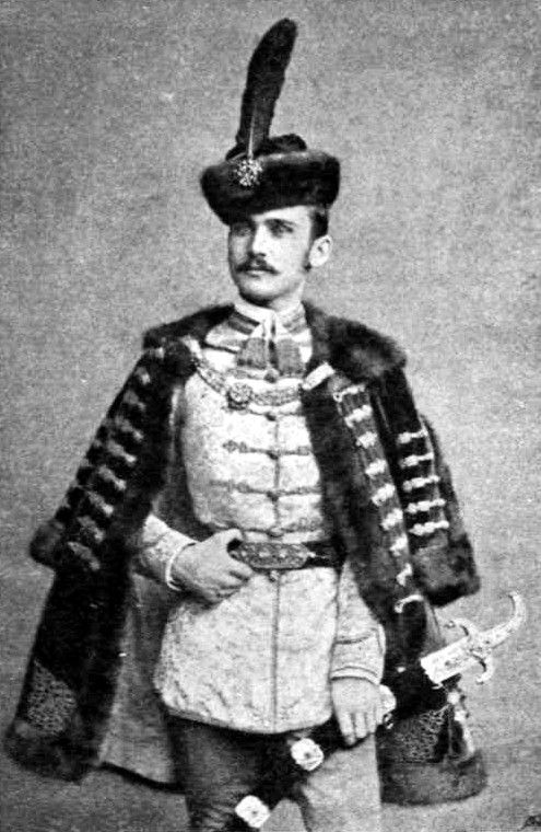 Comte Elemér Lónyay de Nagy-Lónya et Vásáros-Namény (1863-1946) second époux de la princesse Stéphanie de Belgique