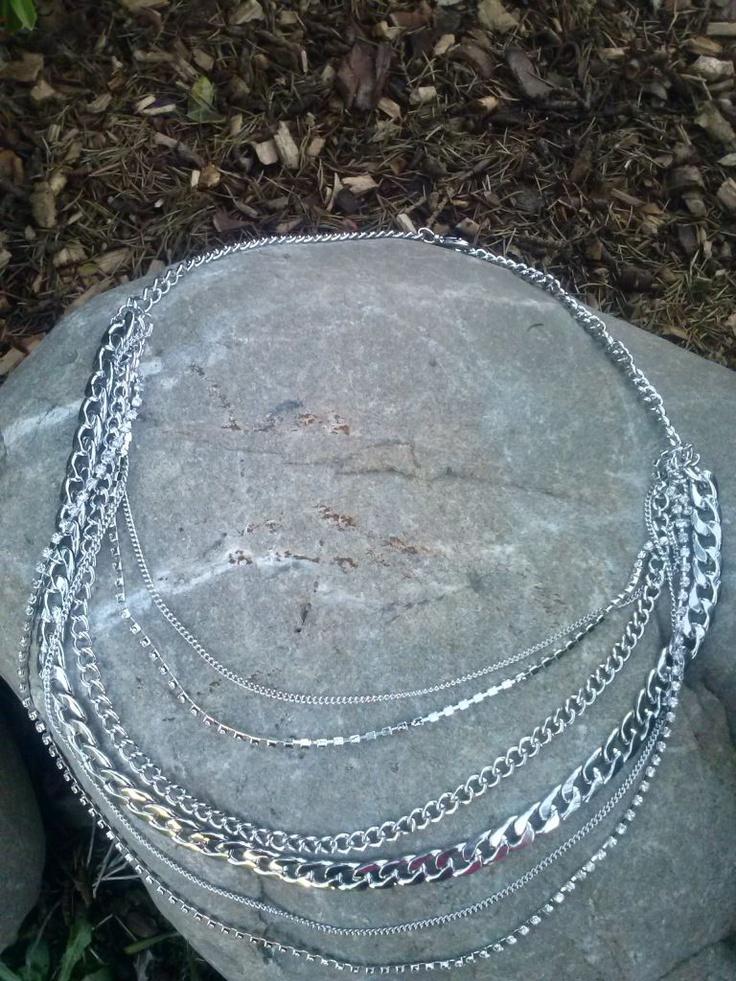 Diamond Chains - Jewellery