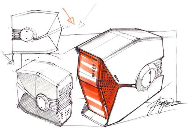 Sketch-A-Day 143: PC Sketch-A-Day   Sketch-A-Day   Sketches by Spencer Nugent