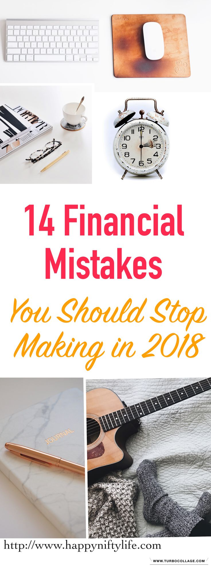 Are you making any of these financial mistakes? These money blunders could be preventing you from reaching your financial goals.