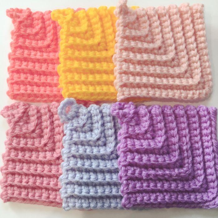 エコ たわし 編み 図 アクリルたわしの編み方講座!初心者も簡単でエコなかわいい作り方を...