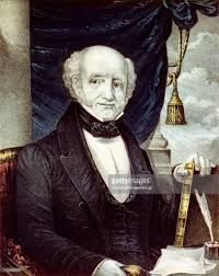 """He was the first president to be born a United States citizen. Of Dutch ancestry, he is the only US president who spoke English as a second language. As president, Van Buren was blamed for the depression of 1837; hostile newspapers called him """"Martin Van Ruin""""."""