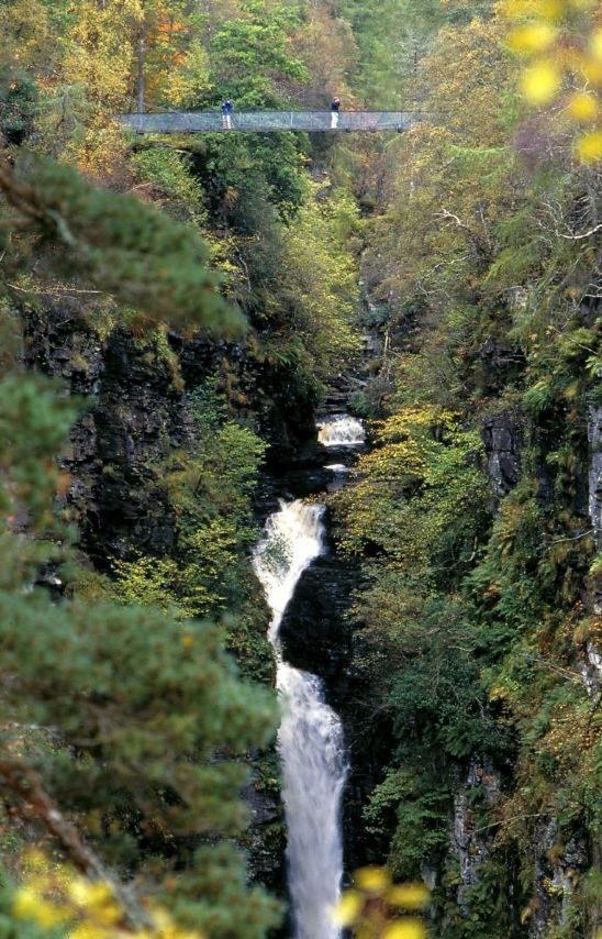 Visit Wester Ross - Corrieshalloch Gorge near Ullapool