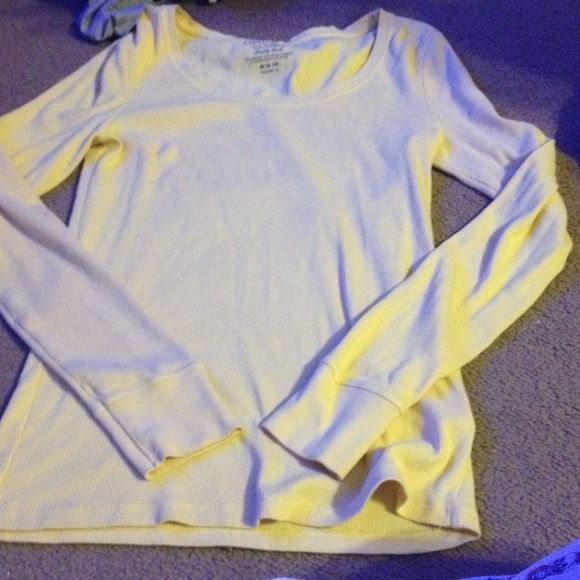 Yellow long sleeve top Like new. Wore 2-3 times. Tops