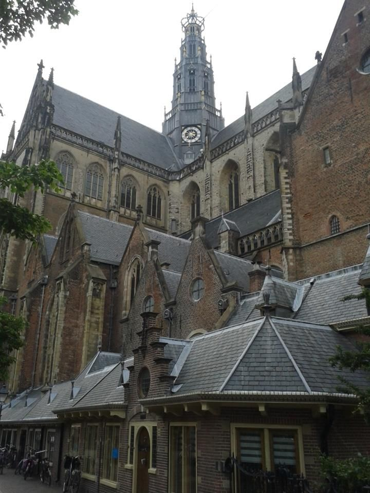 """""""Grote of Sint Bavo Kerk"""" in Haarlem. Zeker een bezoekje waard."""