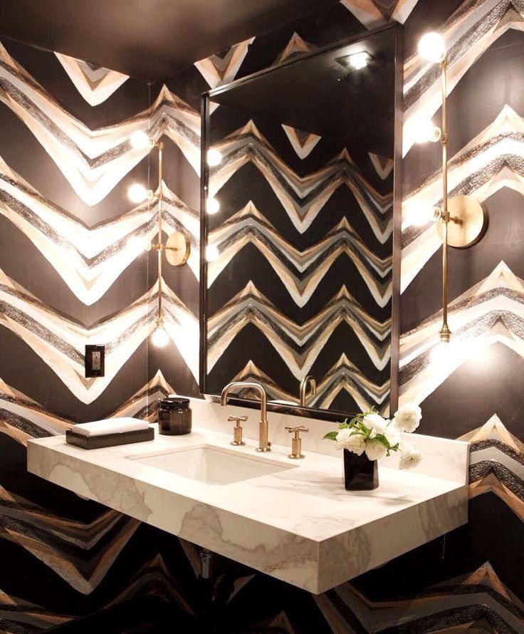 funky bathroom designed for the via bathroom inspiration design