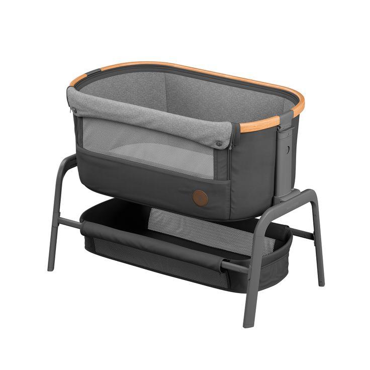 Beistellbett Iora Essential Graphite Beistellbett Bett Babybett