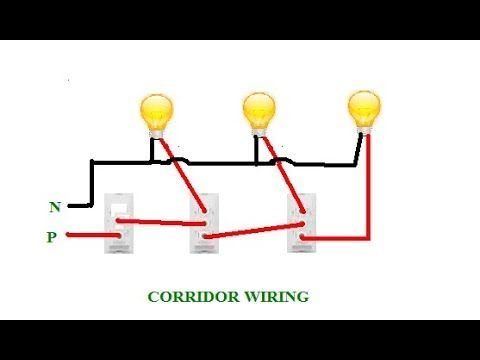 corridor wiring ||corridor connection ||godown wiring||गोडाउन वायरिंग -  youtube