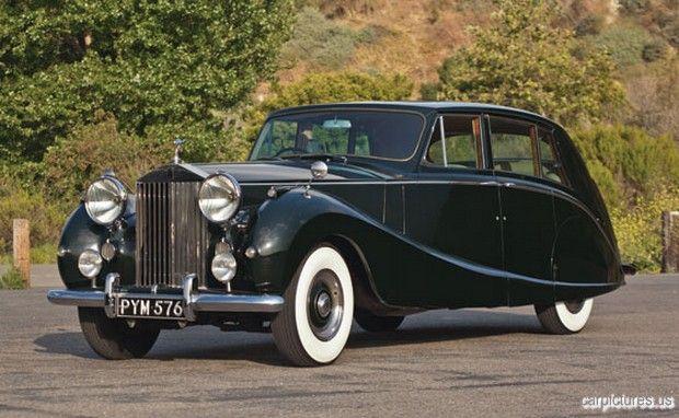 1955 Rolls-Royce Silver Wraith Touring Limousine