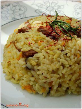 Patlıcanlı pilav (özbek pilavı) tarifi - rumma - rumma