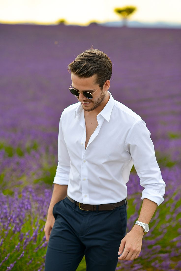 Uniqlo slim fit dress shirt, Club Monaco belt & trousers, Mont Blanc watch, RayBan sunnies | Feat. on iamgalla.com