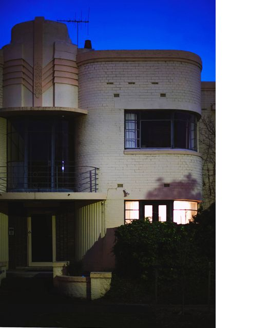 Deco building in Melbourne