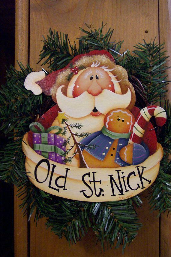 santa and ginger