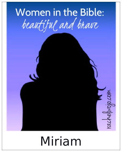 """Welcome to week 7 of Women in the Bible: Beautiful and Brave the series! This week our featured guest is """"Miriam Who Sang Victoriously.""""Our first peek at the life of Miriam is way before we are given her name! Take a look!"""