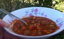 Chunky Chickpea and Chorizo Soup Recipe