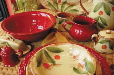 rustic italian decor | Rustic Decor, Rustic Dinnerware Sets Western Nautical & Lodge Decor