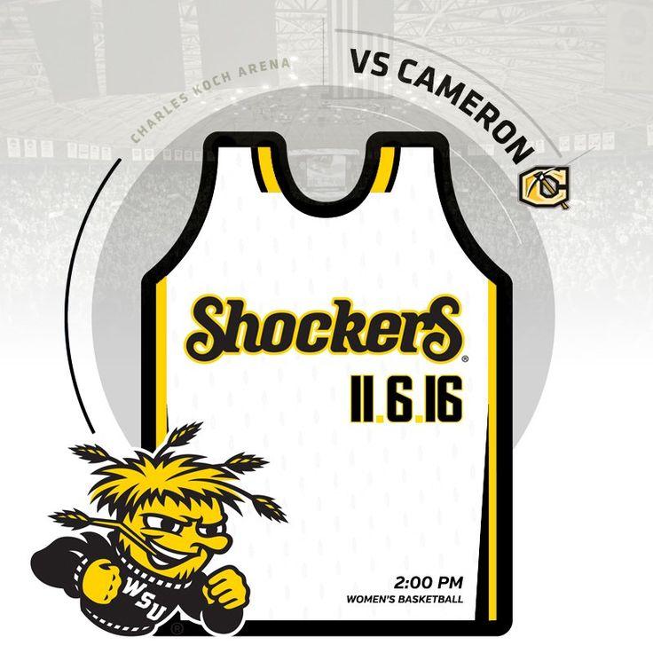"Go Shockers on Twitter: ""Mark your 🗓. Get your 🎟. #watchus 🏀 Exh: 11/2 vs Newman 🏀 Exh: 11/5 vs Augusta 🏀 Exh: 11/6 vs Cameron 🏀 Home Opener: 11/11 vs SCSU https://t.co/kHzwkhgBn4"""