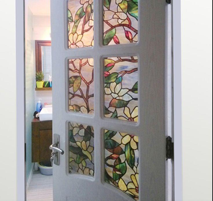 garage door window films, stained glass - Google Search