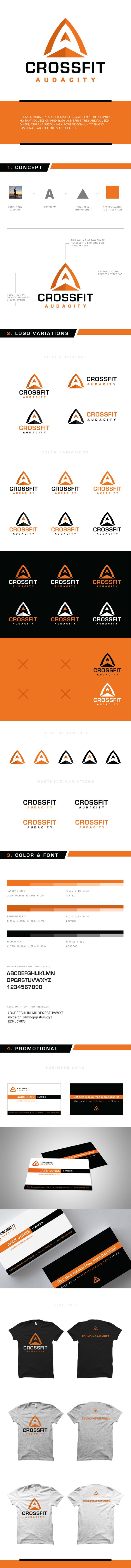 CrossFit Audacity by William Frazier, via Behance