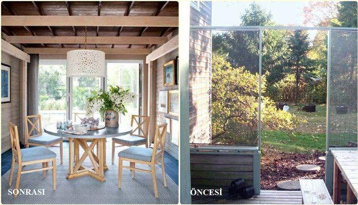 Öncesi - Sonrası Dekorasyon... http://www.ehil.com/bahce-peyzaj.html?localTracker=dekorasyonsirlari