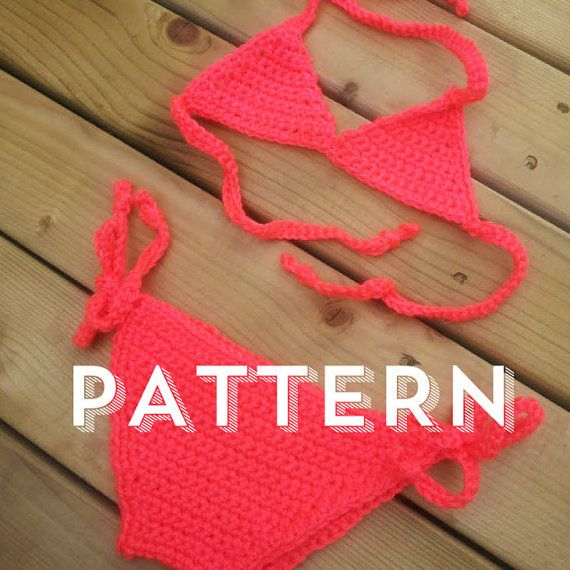 INSTANT DOWNLOAD .pdf crochet baby bikini by HadleyPaigeDesigns