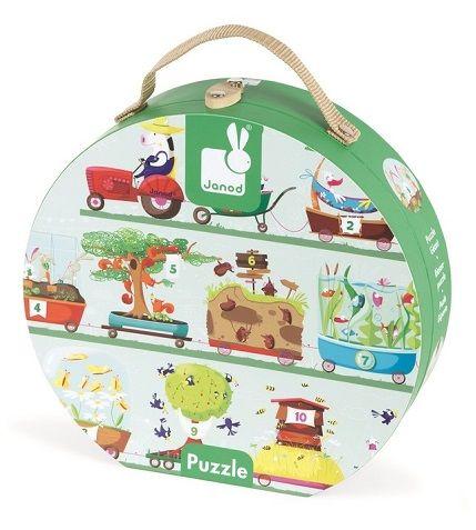 Cena: 78.00zł. Eksresowa wysyłka od ręki. PUZZLE XL W WALIZCE JANOD 12 EL. - CYFERKI TRAKTOR... więcej na www.Tublu.pl #tublu #tublu #toy #forkids #zabawka #dla #dzieci #puzzle #digits #cyfry #edukacyjne #edukacyjna #janod