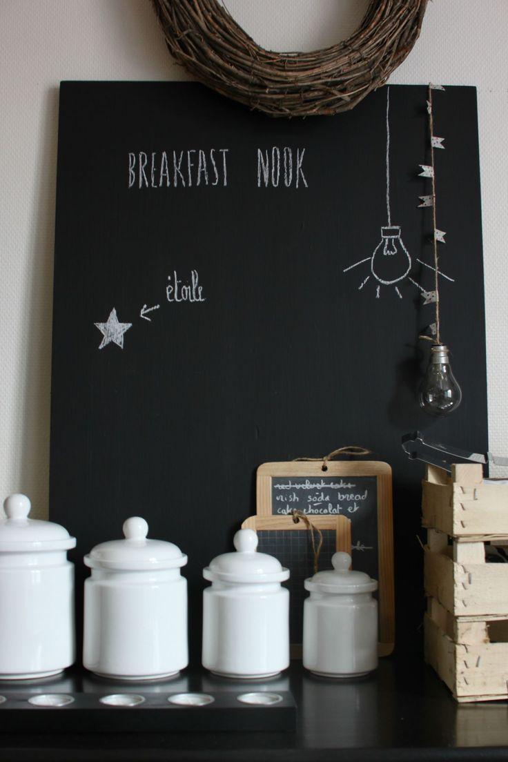 ♥ tableau noir pour mettre dans la cuisine ou dans l'entrée