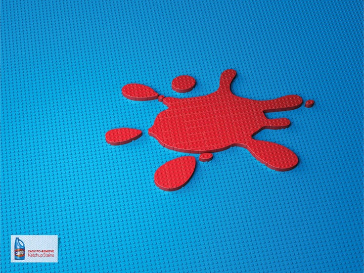 Campaign: Ketchup Stain / Advertiser: Clorox Company / Agency: DDB Dubai / Country: UAE / Executive Creative Director: Shehzad Yunus / Creative Director: Kartik Aiyar &  Makarand Patil / Art Director: Makarand Patil / Copywritter: Kartik Aiyar / Award: Home / Clothing / Accessories Sapphire