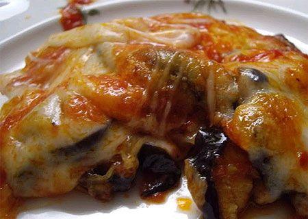 Cocina Para Celiacos, Tarta de Berenjenas
