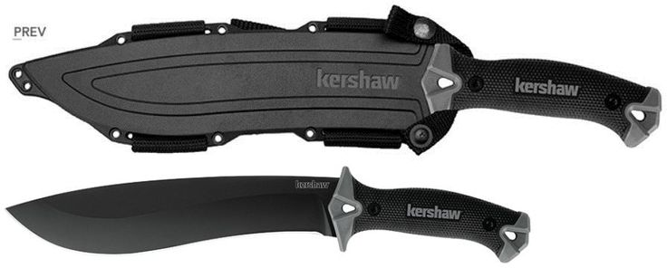 Fixed Blade 42576: Kershaw 1077 10 Machete Camp Fixed Blade Knife Sheath Included Free Shipping -> BUY IT NOW ONLY: $38.69 on eBay!