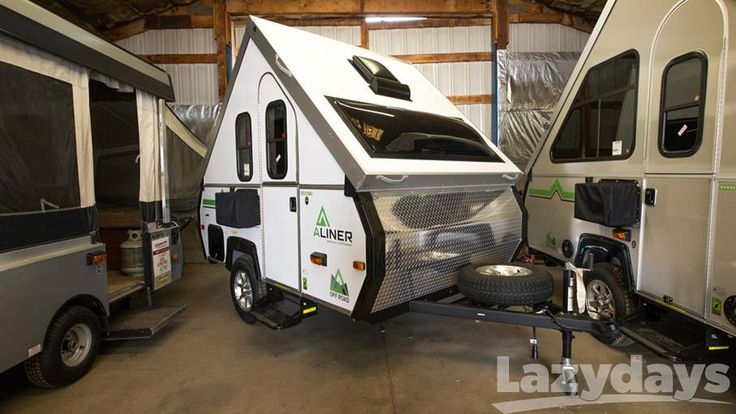 We love this #aliner #camper from Columbia Northwest, available now at Lazydays #RV! #CampingLife
