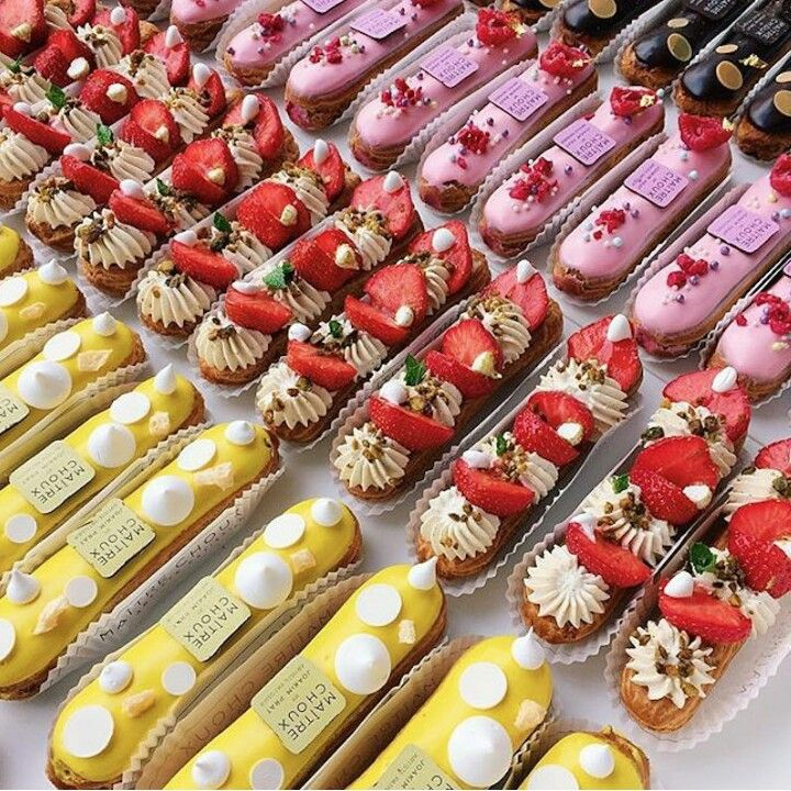 32 Best Eclairs Images On Pinterest
