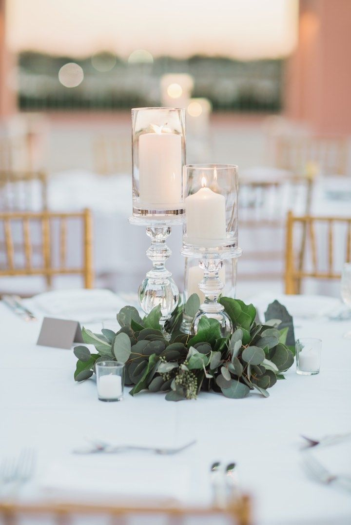 42 Best Candle Wedding Centerpieces Images On Pinterest