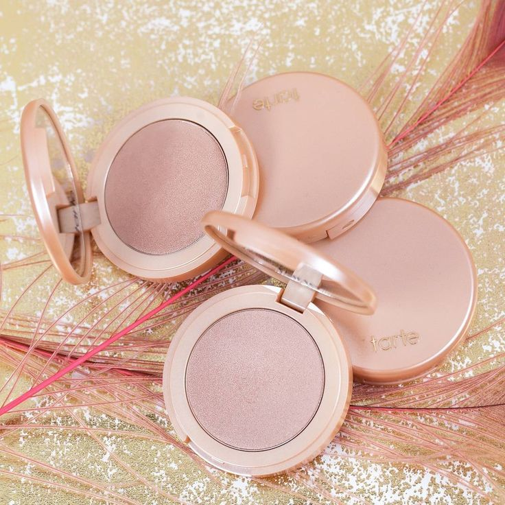 Let's glow...with our NEW single highlighter, available now on tarte.com!✨…