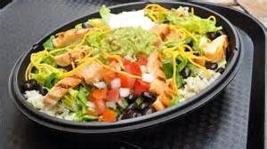 Taco Bell Cantina Power Bowl with Chicken - not usually big on fast food but this is delicious!!