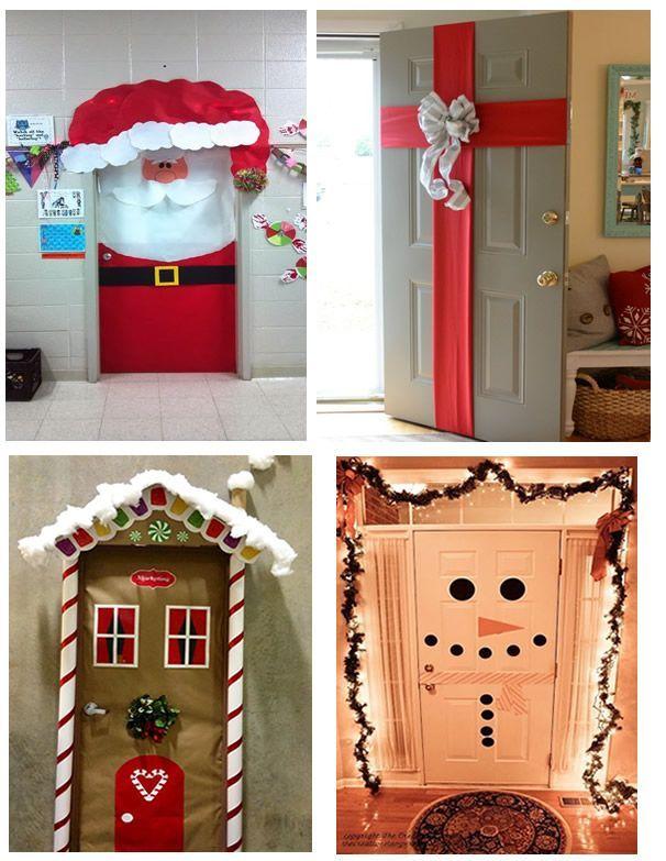 Como Decorar La Puerta De Mi Casa Para Navidad