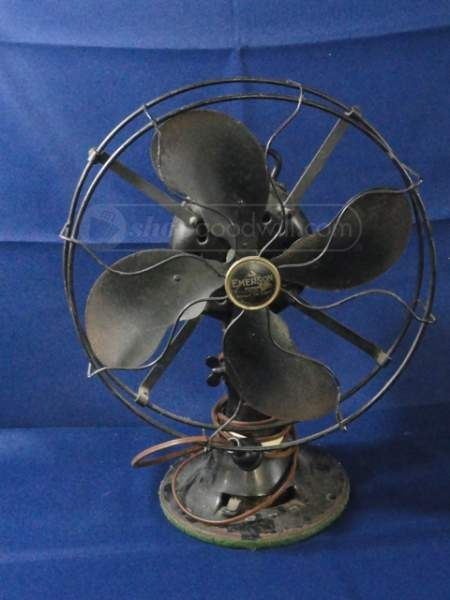 Vintage Emerson 4 Blade Wire Fan Young Again Fans