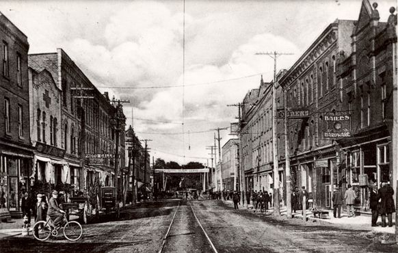 King Street West Looking East (at Prince), 1910