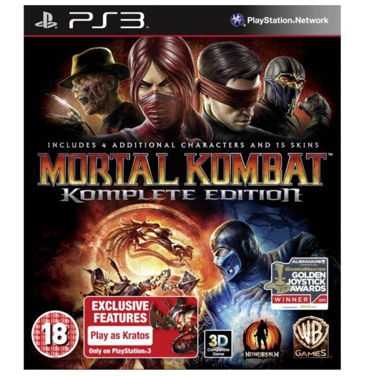 Videojuego Warner Bros PS3 Mortal Kombat Komplete Edition *Hasta agotar existencias*