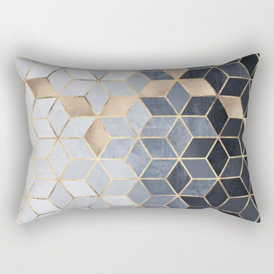 Decorative pillows on bed